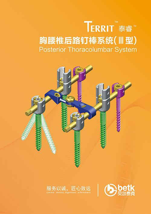 胸腰椎后路钉棒系统(Ⅲ型)